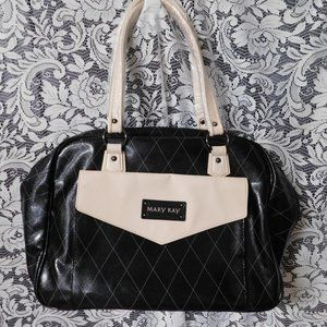 Mary Kay Consultants Black Cream Large Tote Bag